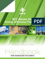 Handbook NCC Volume One Energy Effciency Provisions 2016