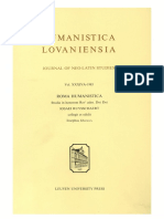 Humanistica Lovaniensia Vol. 34A, 1985 - ROMA HUMANISTICA Studia in honorem Revi adm. Dni Dni IOSAEI RUYSSCHAERT.pdf