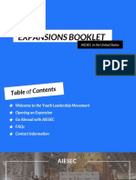 Expansions Booklet AIESEC US