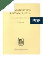 Humanistica Lovaniensia Vol. 36, 1987.pdf