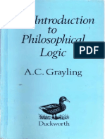 An Introduction to Philosophical Logic 2nd Ed