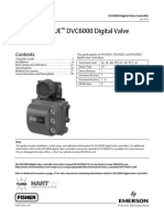 Fisher Fieldvue Dvc6000 Digital Valve Controller Quick Start Guide Manual