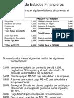 4.1 Ejemplo de Registros Contables