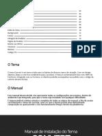 Manual de Instalação Do Tema