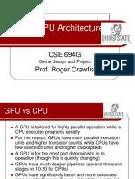 Modern GPU Architecture