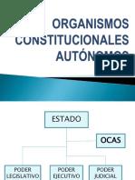 Organismos Constitucionales Autónomos 2015