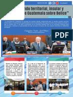 Diferendo Territorial Insular y Marítimo de Guatemala Sobre Belice No.1, Consulta Popular