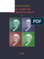 Joan Francés BLANC. Los Aujòls de Joan Baptista Blanc X