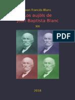Joan Francés BLANC. Los Aujòls de Joan Baptista Blanc XIII