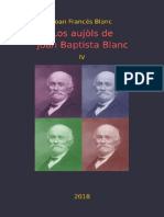 Joan Francés BLANC. Los Aujòls de Joan Baptista Blanc IV