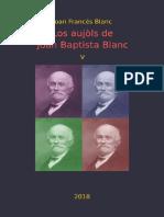 Joan Francés BLANC. Los Aujòls de Joan Baptista Blanc V