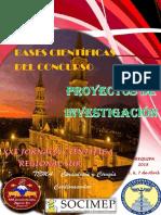 Bases Para El Concurso Científico Jrcs 2018 Proyectos PDF