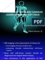 Mr Imaging of Tumor and Tumorlike Lesions Of