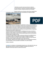 Castatrofes ambientales