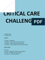 Critical Care Challenges