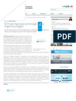Ley Argentina Digital (Noticia)