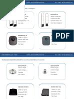 Catalogo de Productos Radiofrecuencia