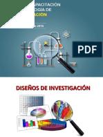 Diseños de Investigación 2016