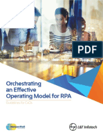 Orchestrating an Effective Operating Model for RPA Whitepaper 140417 W...