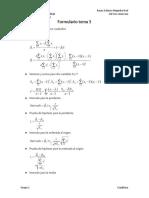 Formulario Tema 5 Estadistica