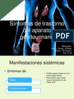 SÍntomas de trastorno del aparato genitourinario
