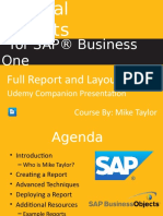 Crystal Reports for Sap Business One