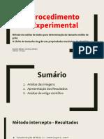 Determinação Do Tamanho Médio de Grão.pptx
