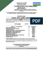 Certificados 2017 Los Camajones Corregidos