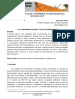 Etnia Indígena Avá-guarani – Guaíraparaná Reterritorializar Para Resistir e Existir - Tiago Satim Karas