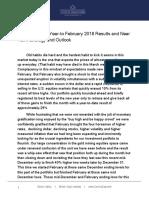 March 2018 Investment Letter - Corona Associates Capital Management LLC