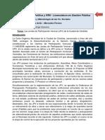 Las Juntas de Participación Vecinal-JPV-De La Ciudad de Córdoba