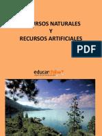 Recursos Naturales y Recursos Artificiales