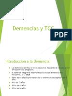 Demencia y TCC