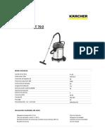 Ficha Tecnica NT 70_2 CH