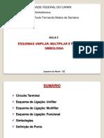 Aula 5 - Esquemas Unifilar, Multifilar, Funcional e Simbologias