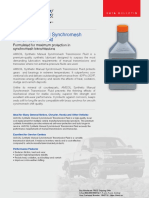 AMSOIL Synthetic Manual Synchromesh Transmission Fluid (MTF)
