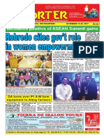 Bikol Reporter November 19 - 25, 2017 Issue