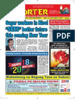 Bikol Reporter December 31 - January 6, 2017 Issue