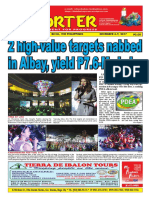 Bikol Reporter December 3 - 9, 2017 Issue