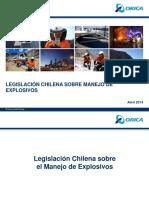 5) Legislación Chilena_Manejo de Explosivos