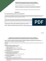 ACCP L3 Qualifications