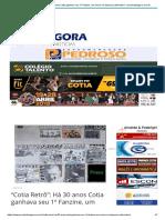 """""""Cotia Retrô""""_ Há 30 Anos Cotia Ganhava Seu 1º Fanzine, Um Marco Na Imprensa Alternativa – Jornalcotiaagora.com.Br"""