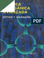 Quimica Inorganica Avanzada - 2da Edición - Cotton & Wilkinson -En Español