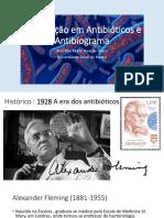 Atualização Em Antibióticos e Antibiograma