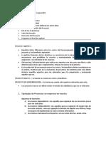 Evaluación de Proyectos - Resumen Capitulo 1