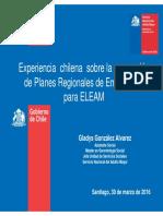Experiencia Chilena Sobre La Generacion de Planes Regionales de Emergencia Para ELEAM