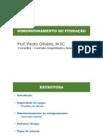 Aula 06 - Dimensionamento de Fundações