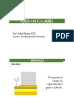 Aula 04 - Ações Nas Fundações