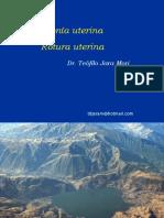 Atonía Rotura Desgarro Uterina Mayo 2017