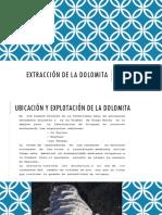Extracción de La Dolomita